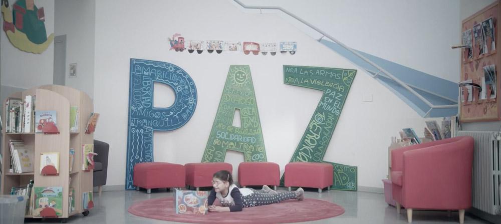 audiovisual corporativo colegio Gloria Fuertes Zaragoza SinPalabras