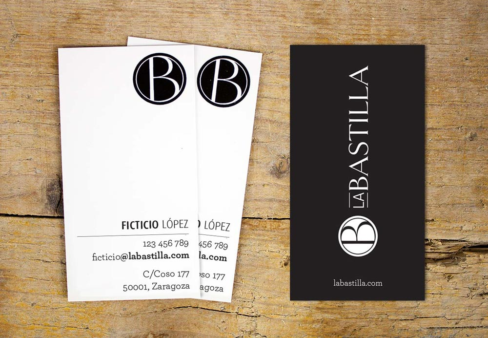 branding diseño corporativo tarjeta de visita SinPalabras
