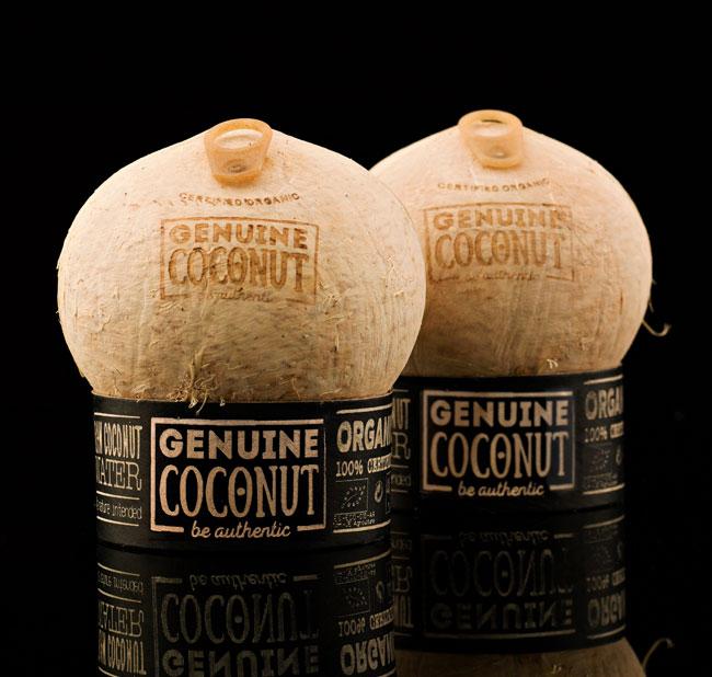 Lanzamiento de producto Genuine Coconut