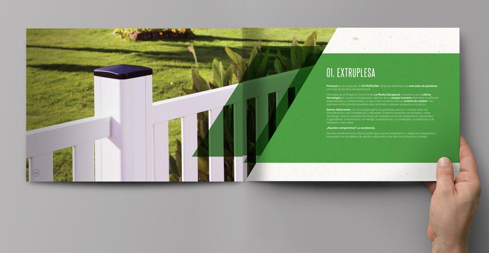 diseño catálogo de producto SinPalabras