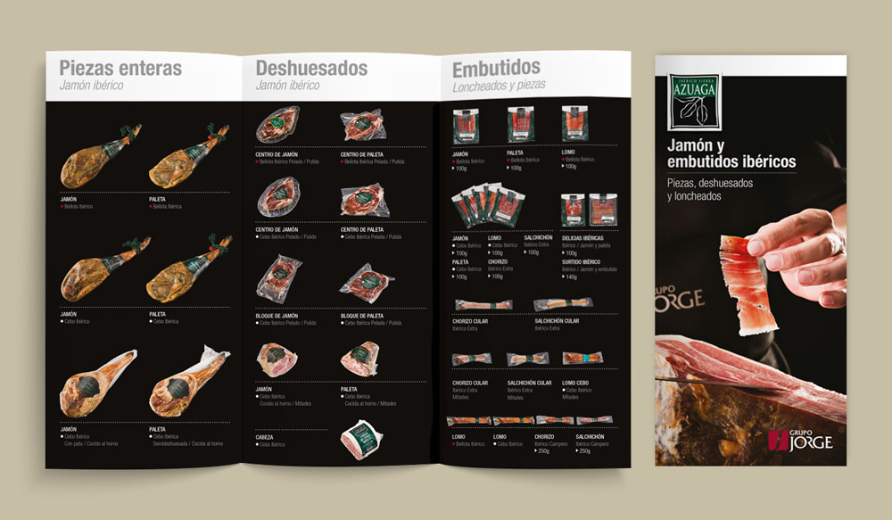 diseño gráfico tríptico SinPalabras
