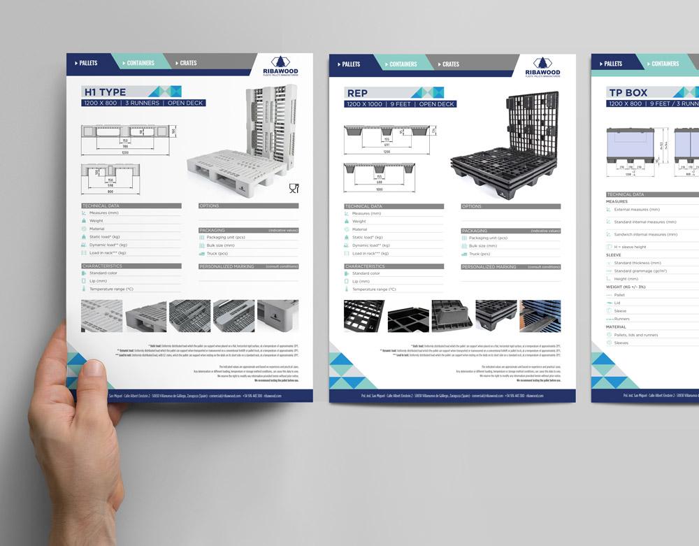 diseño maquetación fichas producto SinPalabras