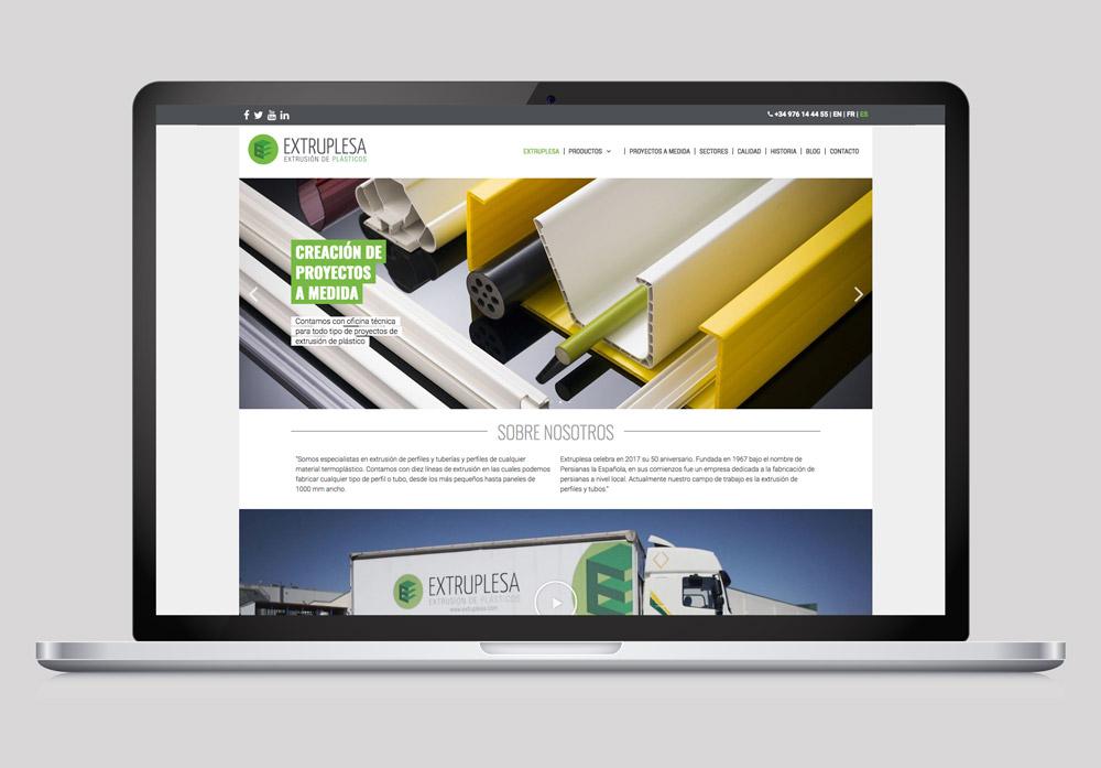 diseño web corporativa pyme SinPalabras