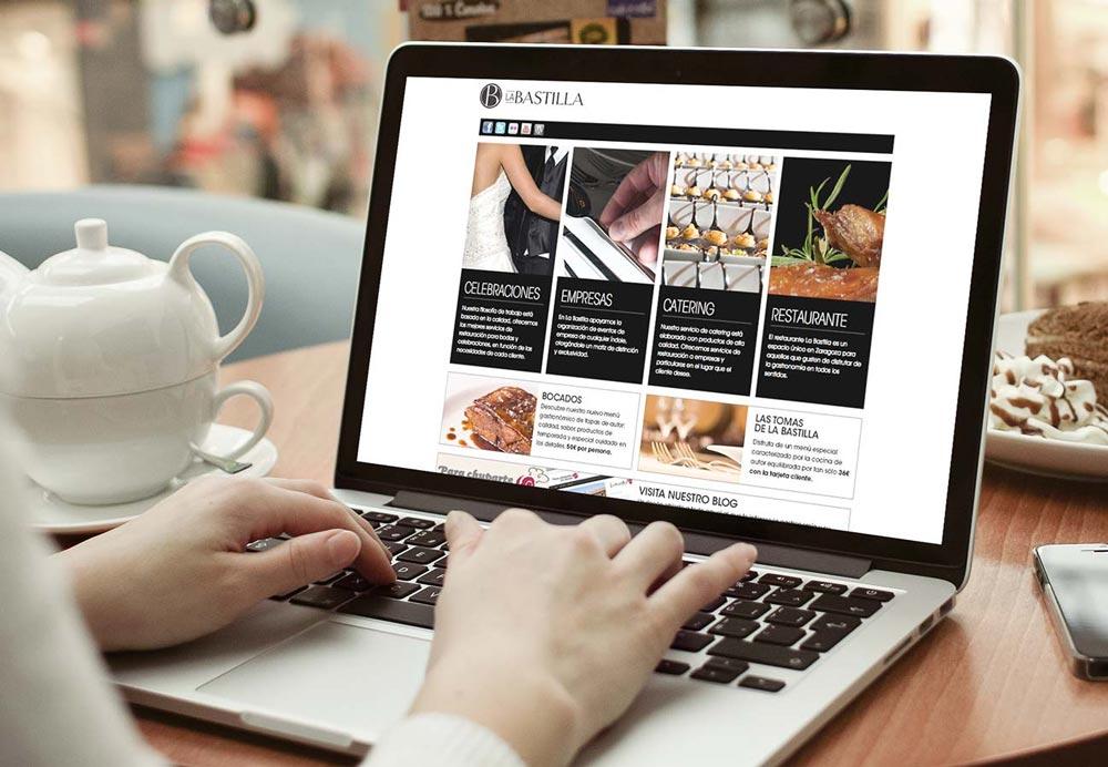 diseño web página corporativa SinPalabras