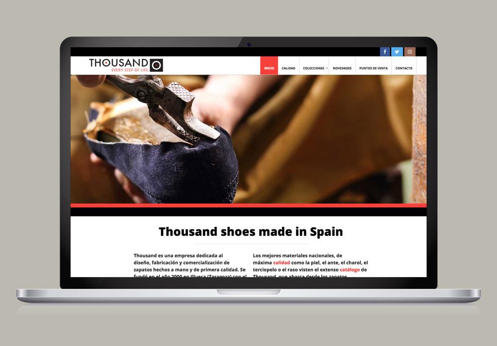 diseño web tienda moda SinPalabras