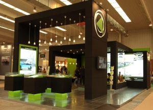 Arquitectura efímera: diseño y montaje stand feria de Zaragoza SinPalabras