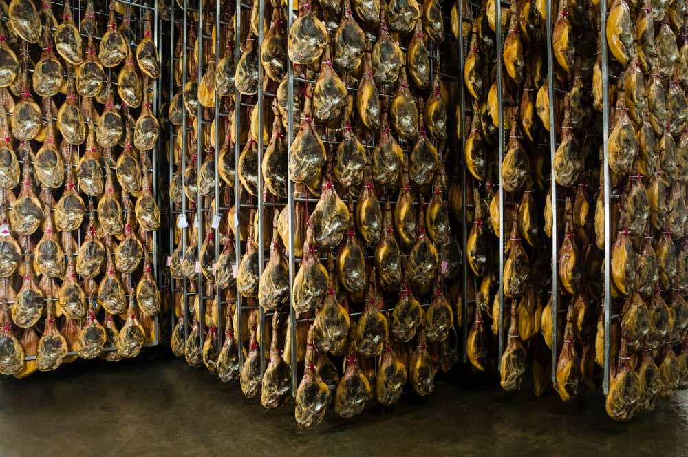 fotografía de instalaciones secadero jamón SinPalabras