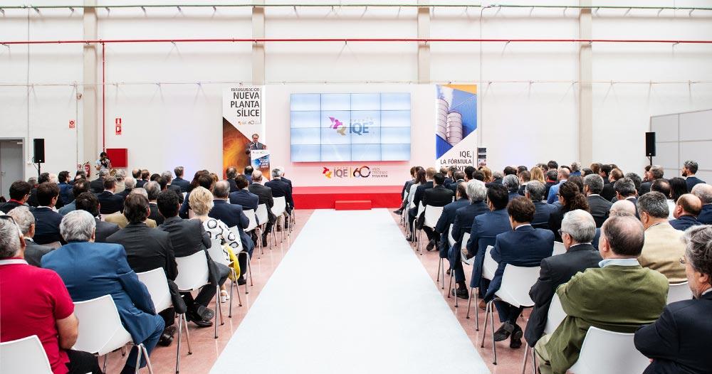 organización eventos empresa aniversario IQE SinPalabras