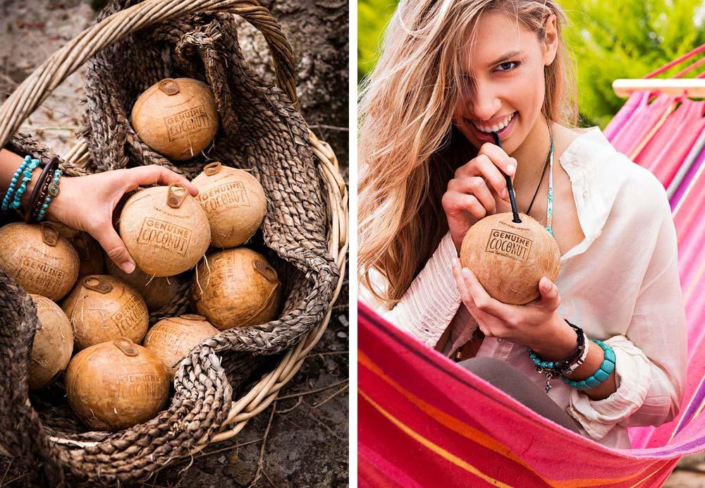 sesión fotografía producto Genuine Coconut SinPalabras