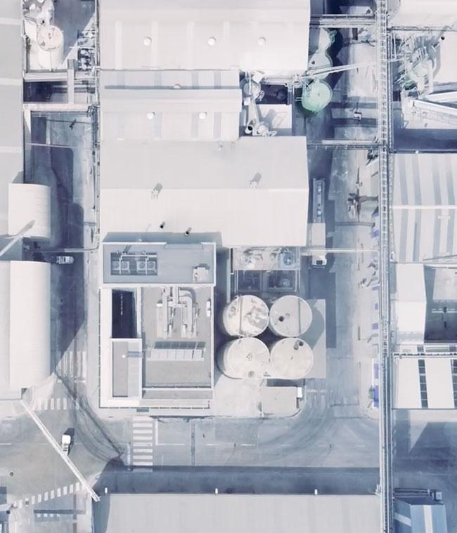 video corporativo instalaciones aéreos SinPalabras