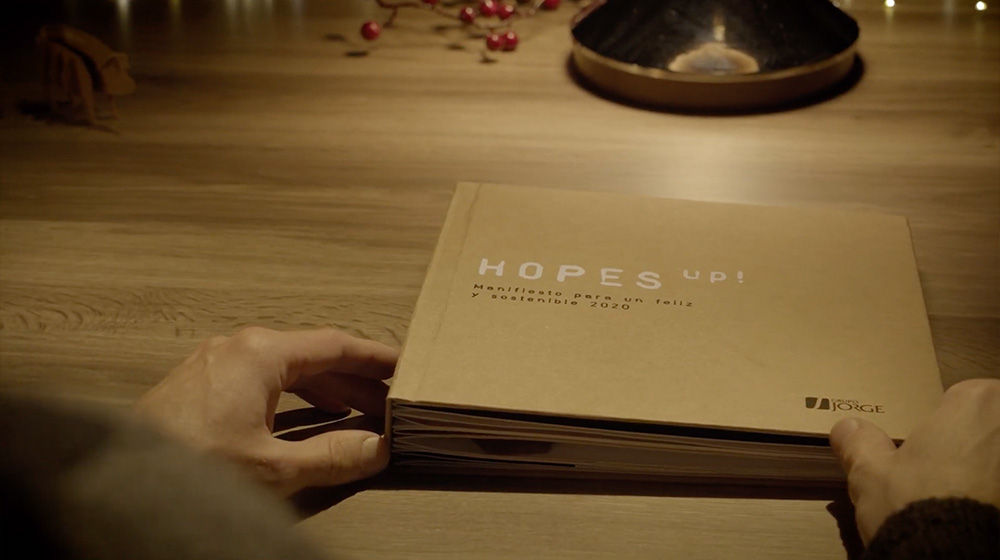 campaña navidad libro popup