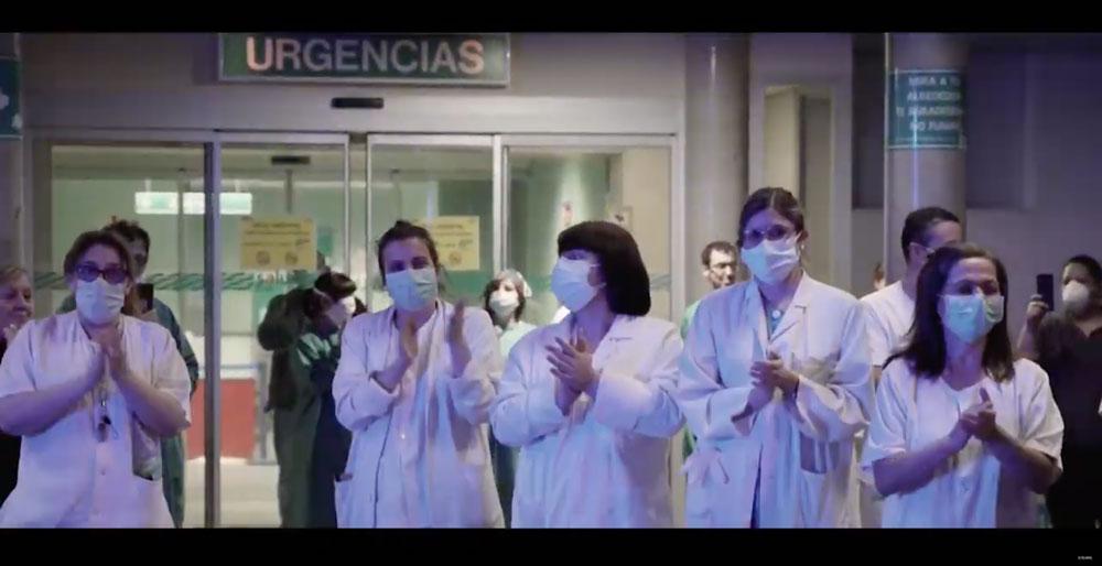 video-agradecimiento-comunicacion-corporativa-coronavirus-aplausos-sanitarios-sinpalabras-creativos